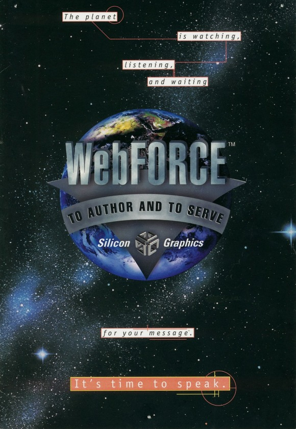 WebFORCE Brochure Cover
